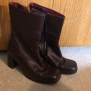 Tommy Hilfiger high heel boots